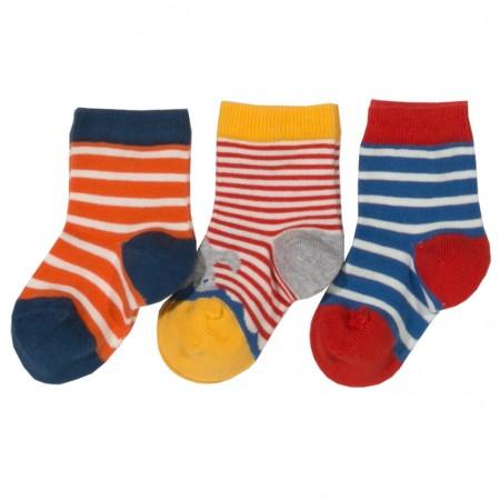 Kite Stripey Socks - 3 Pack
