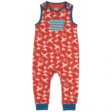 Kite Red Seagull Dungarees