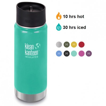 Klean Kanteen 16oz Wide Vacuum Insulated Cafe 2018