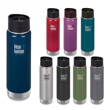 Klean Kanteen 20oz Wide Vacuum Insulated Cafe