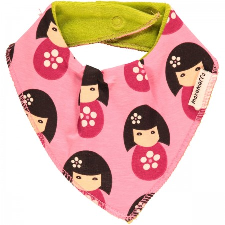 Maxomorra Dolls Dribble Bib
