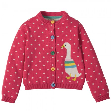 Frugi Duck Little Betsy Cardigan
