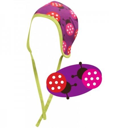 Maxomorra Ladybird Baby Hat