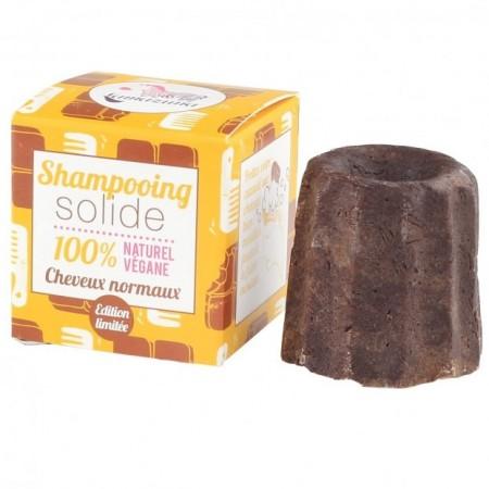Lamazuna Solid Shampoo Normal Hair - Chocolate