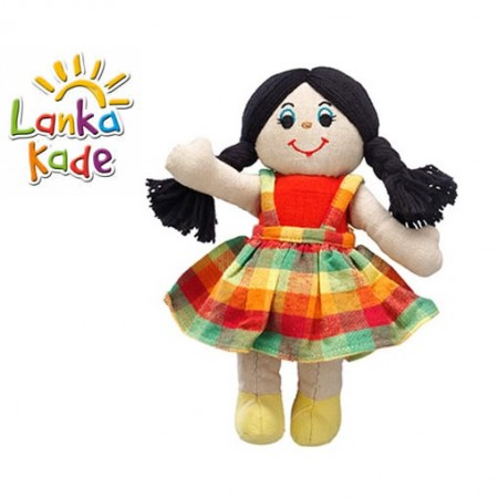 Lanka Kade Girl - White with dark hair