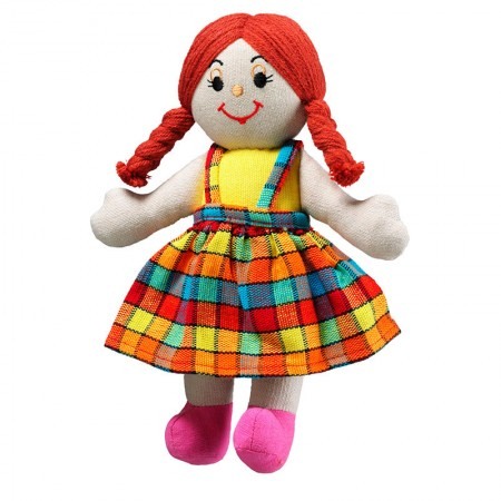 Lanka Kade Girl Doll - Red Hair, White Skin