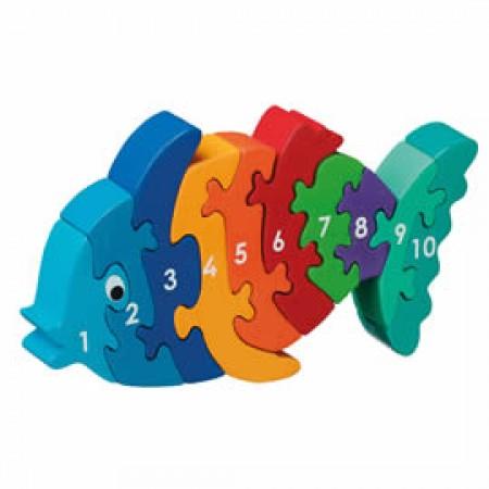 Lanka Kade Fish Jigsaw 1-10