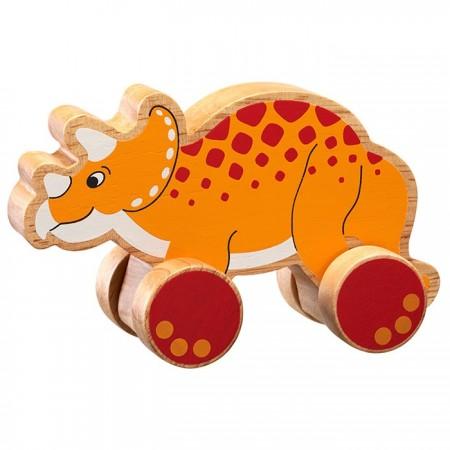 Lanka Kade Push Along Triceratops