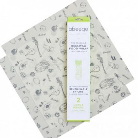 Abeego Large Pack - 2 Large Wraps