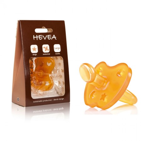 Hevea Soother Orthodontic Teat Toddler Size
