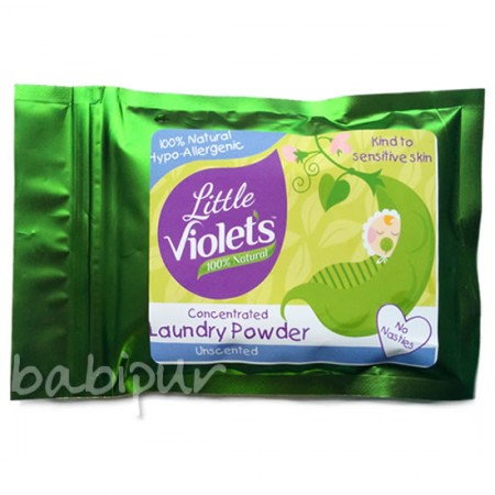 Violets Magic Laundry Powder Sample