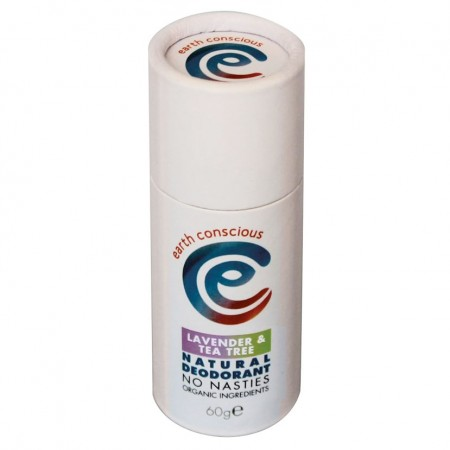 Earth Conscious Lavender & Tea Tree Deodorant