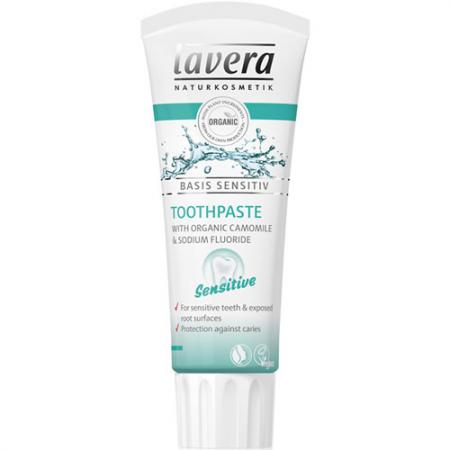 Lavera Sensitive Organic Toothpaste