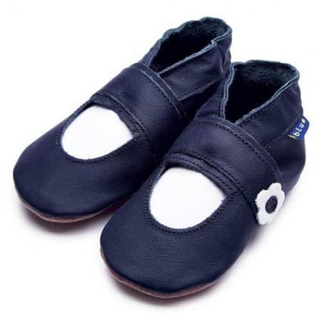 Inch Blue Mary Jane Navy Shoes