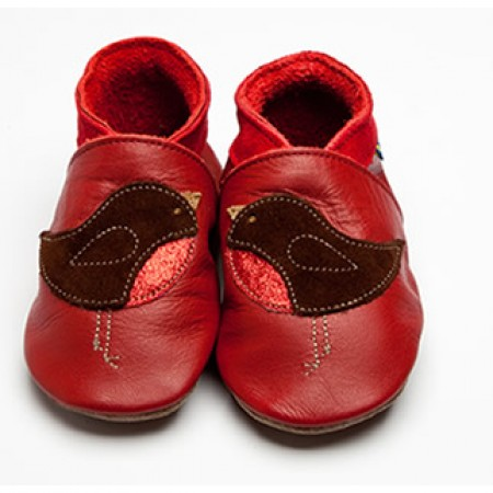 Inch Blue Robin Red Shoes