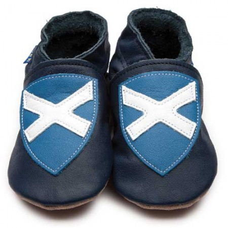Inch Blue Saltire Scottish Flag Shoes