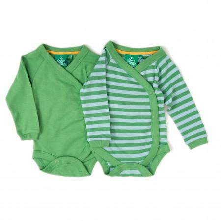 LGR Long Sleeve Babywrap x 2 - Green
