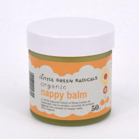 LGR Organic Baby Nappy Balm