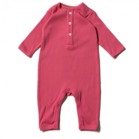LGR Rose Rib Play Suit