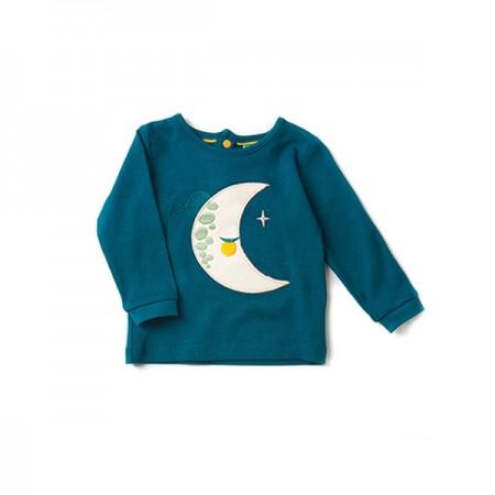 LGR Sleeping Moon Applique T-shirt