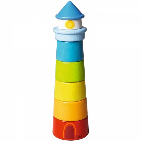 Haba Lighthouse Stacking Game