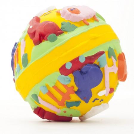 Lanco Natural Rubber Lili Yellow Ball