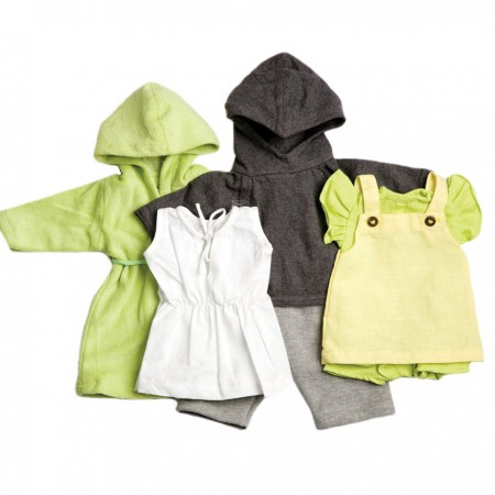 Peppa Lime & Grey 40cm Doll Outfits