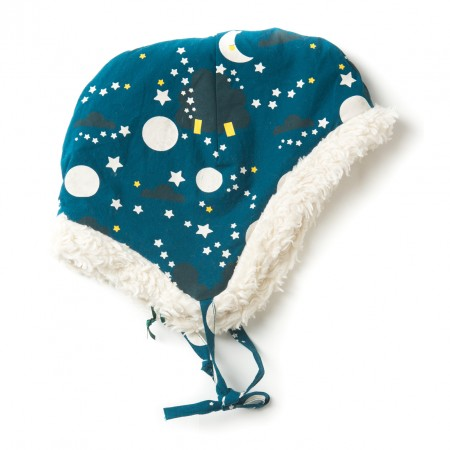 LGR Moon & Stars Sherpa Fleece Cap