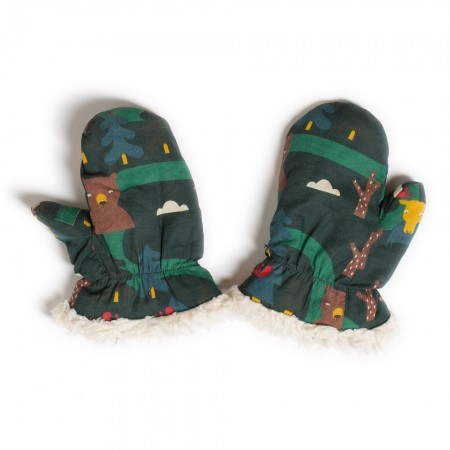 LGR Nordic Forest Sherpa Mittens