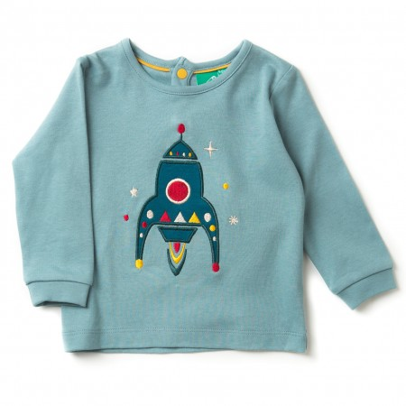 "LGR ""Rocket To The Stars"" Applique T-shirt"