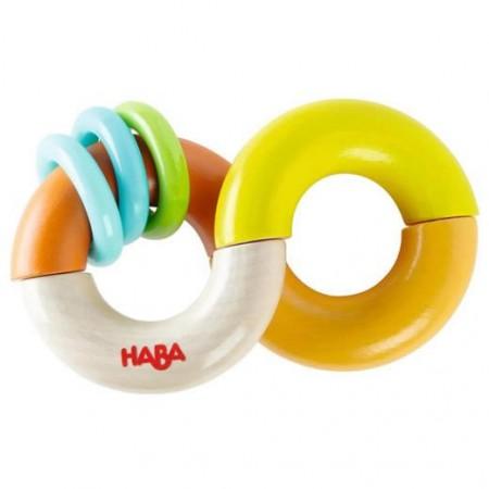 Haba Loop-a-ling Clutching & teething toy