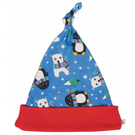 Frugi Snowy Friends Lovely Hat