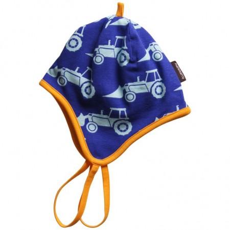Maxomorra Excavator Baby Bonnet Hat