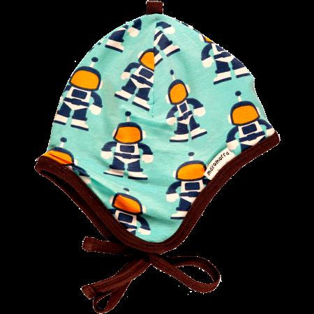 Maxomorra Astronaut Baby Bonnet