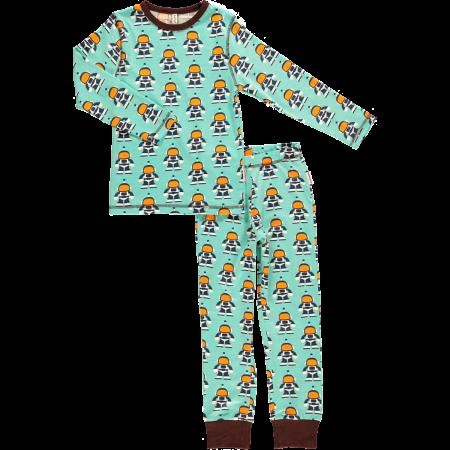 Maxomorra Astronaut LS Pyjamas