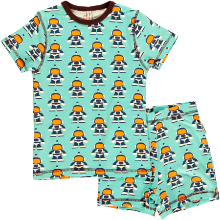 Maxomorra Astronaut SS Pyjamas