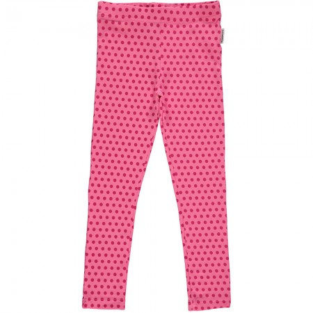 Maxomorra Cerise Dots Leggings