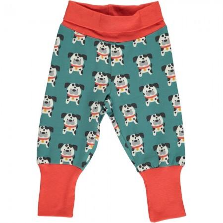 Maxomorra Dalmatian Buddy Rib Pants