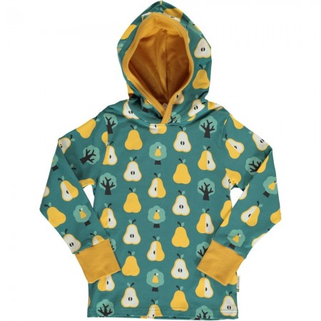 Maxomorra Golden Pear LS Hooded Top