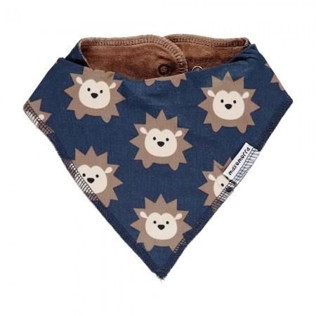 Maxomorra Hedgehog Dribble Bib