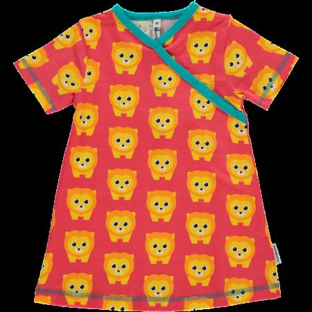 Maxomorra Lion Wrap SS Dress