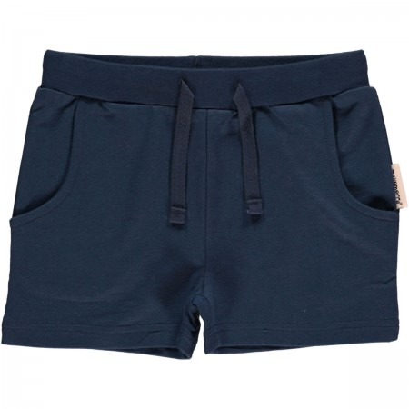 Maxomorra Navy Blue Shorts