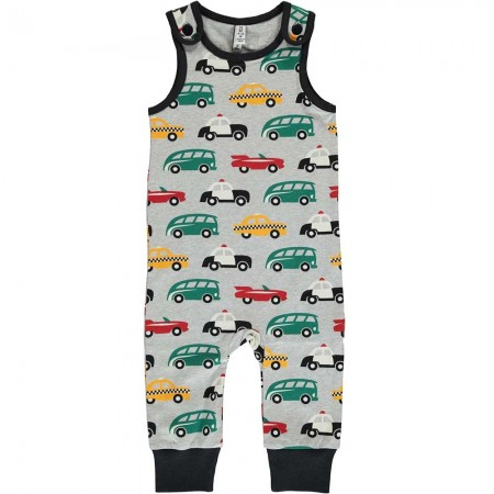 Maxomorra Traffic Dungarees