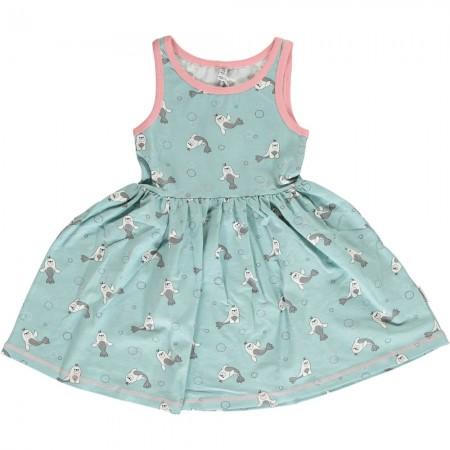 Maxomorra Seal Sleeveless Spin Dress