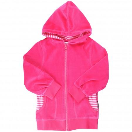 Maxomorra Cerise Pink Baby Hoody