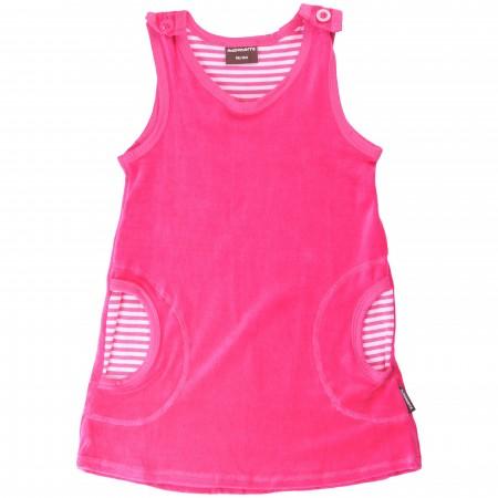 Maxomorra Cerise Pink Baby Dress