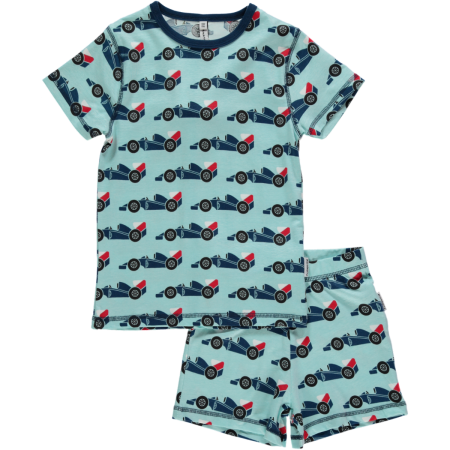 Maxomorra Racer Car SS Pyjamas