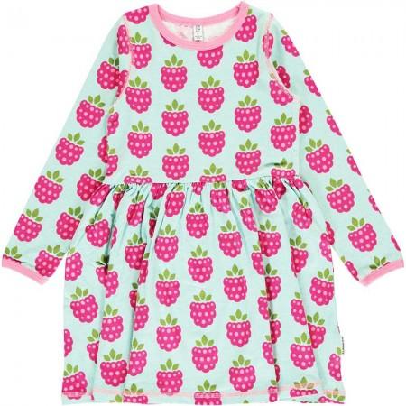 Maxomorra Raspberry LS Spin Dress