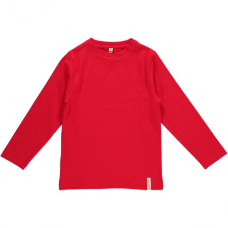 Maxomorra Red LS Top