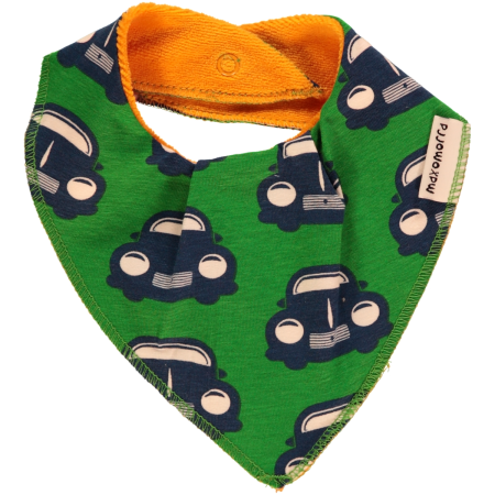 Maxomorra Retro Car Dribble Bib